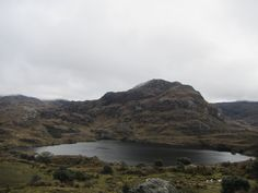 The mornings mist slowy retreats over the mountain top as freezing winds blow through the valley in Cajas National Park, Ecuador  #ecuador #travel #southamerica #nature #lake