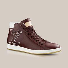 Surfside sneaker boot in grained calf via Louis Vuitton
