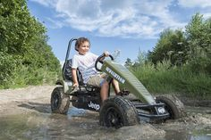 The Jeep Pedal Go-Kart Can 'Go Anywhere, Do Anything'