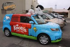 Knott's Berry Farm Snoopt scion xb wrap