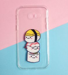 Hand painted sushi phone cases - iPhone 6 case clear- iPhone 6 case - iPhone 6s case - Foods phone case-Samsung Galaxy S6 Case sold by Mint Corner. Shop more products from Mint Corner on Storenvy, the home of independent small businesses all over the world.