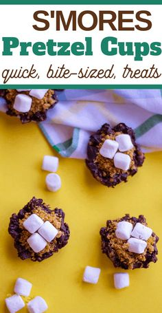 I love making special snacks for the kids every afternoon and these Pretzel S'Mores are one of the easiest, funnest snacks we've made lately. Chocolate Candy Recipes, Chocolate Treats, Homemade Chocolate, Snack Recipes, Dessert Recipes, Snacks, Chocolate Dipped Pretzels, Sweet And Salty, Delicious Desserts