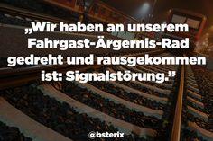 """Die großartige Twitter-Seite """"Bahnansagen"""" sammelt die witzigsten Dinge, die täglich in deutschen Zügen passieren."""