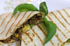 Quesadillas z wołowiną - My Blueberry Corner