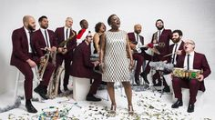 Sharon Jones & The Dap-Kings' new album, It's A Holiday Soul Party, is out now.