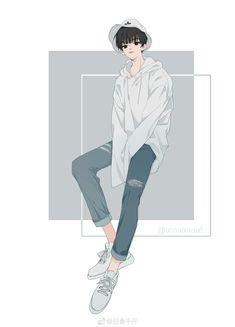 32 Ideas for drawing girl body anatomy pose reference Hot Anime Boy, Anime Art Girl, Anime Guys, Best Anime Drawings, Character Art, Character Design, Estilo Anime, Handsome Anime, Manga Boy