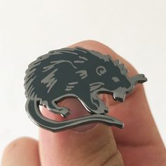 Joe 90 Rat Cage Clutch Pin Badge Choice of Gold//Silver