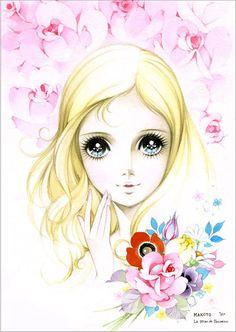 時代の文化を彩る少女画家・高橋真琴の個展「マコトイズムの少女たち」伊勢丹新宿本店で開催 写真4