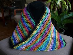 Psychedelic Mobius / Infinity Scarf or Cowl