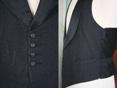 RARE Vintage 1920's 1930's 3 Piece Tuxedo by Bond Almost Mint   eBay 1920s Mens Clothing, Tuxedo, 3 Piece, Bond, Vest, Costumes, Jackets, Ebay, Clothes