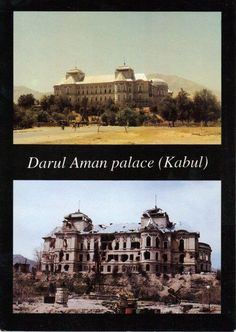 Darul Aman Palace, Kabul