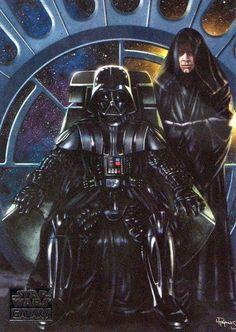 If Vadar got his wish... Darth Vader and Luke Skywalker. #likefatherlikeson