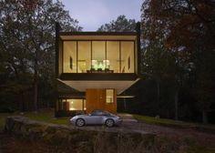Diseños de fachadas de casas minimalistas
