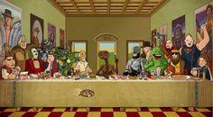 Das letzte Abendmahl: Phantasie Movie Stars - http://www.dravenstales.ch/das-letzte-abendmahl-phantasie-movie-stars/