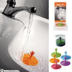 Drain Stopper - 50 Cool and Creative Products by Fred & Friends | Bored Panda