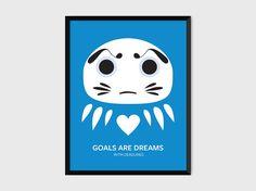 #motivational #daruma #poster