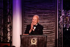 Bill Cunningham awarded the Carnegie Hall Medal of Excellence