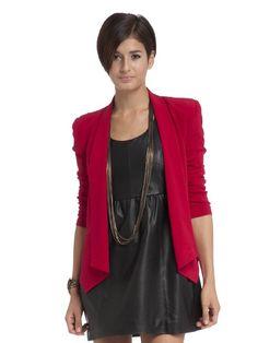 Rebecca Minkoff becky red jacket