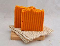 Handmade Organic Tangerine Soap Vegan Soap Hot by SweetSallysSoaps