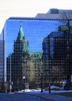 Reflections - Canada's Parliament Buildings