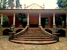 Mansion from early 20th century at Oratorio Avenue, Sao Paulo - Brazil