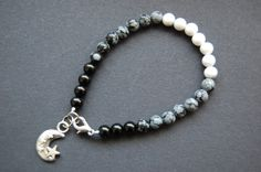 Moon/Lunar Phase/Cycle Bracelet - Pagan, Wicca, Druid. $18.50, via Etsy.