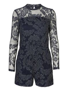 Lace playsuit from VERO MODA <3