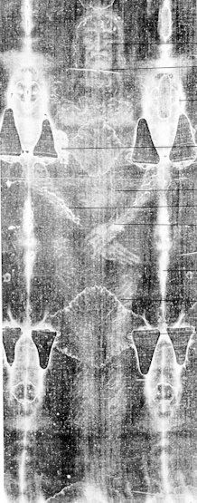 the Shroud of Turin, it is kept in the cathedral of St. John the Baptist - Turin, Italy > next viewing not scheduled until 2025
