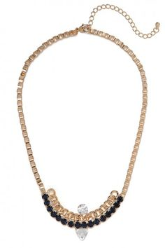 our chained arc necklace!