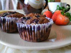 Egy finom Teljes kiőrlésű zabpelyhes áfonyás muffin ebédre vagy vacsorára? Teljes kiőrlésű zabpelyhes áfonyás muffin Receptek a Mindmegette.hu Recept gyűjteményében!