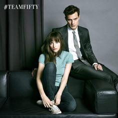 Fifty Shades of Grey...first peek at Anastacia Steel and Christian Grey....aka (Dakota Johnson and Jamie Dornan)
