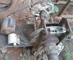 Micro Usina mini usina, Roda d'água Gerando Energia Elétrica Limpa Renov...