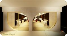 Storefront render for a jewelry store at the Gold Souk,Dubai.(firstferry)