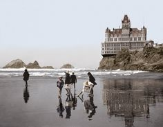 Vintage, San Francisco Cliff House