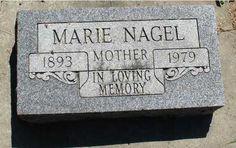 NAGEL, MARIE - Ida County, Iowa | MARIE NAGEL