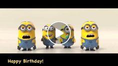 MINIONS Happy Birthday SONG
