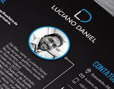 """Check out new work on my @Behance portfolio: """"Currículo Designer Gráfico"""" http://be.net/gallery/51484133/Curriculo-Designer-Grafico"""
