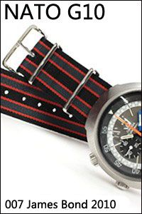 a9a5176da39 PHOENIX NATO G10 007 James Bond 2010 This is the genuine G10 NATO Watch  Bands   Straps supplied to MOD (Ministry of Defense) by Phoenix Straps in  UK.  42.00