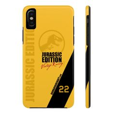 Items similar to Jurassic Edition Phone Case By Case Mate Iphone X Iphone 8 Plus Iphone 7 Plus Samsung Galaxy on Etsy Iphone 8 Plus, Iphone 7, My Etsy Shop, Samsung Galaxy, Phone Cases, Tech, Tecnologia, Iphone Seven, Technology