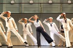 """""""Anything Goes"""" (Image: Copyright Joan Marcus) Roundabout Theatre Company's revival of the Cole Porter musical Anything Goes won three Tony Awards in 2011, including one for its exuberant tap-dance choreography."""