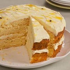 In en om die huis: Granadilla butter cake