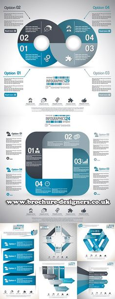 business vector infographics suitable for annual report design http://www.brochure-desi... #annualreport #reportdesign #infographic #infographics