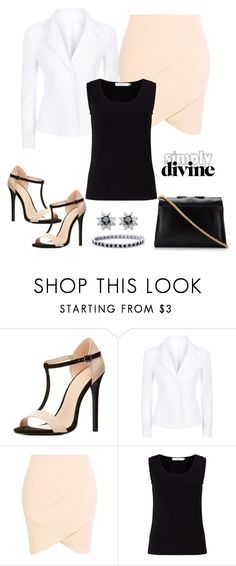 """""""Untitled #908"""" by gallant81 ❤ liked on Polyvore featuring Charlotte Russe, Escada Sport, John Lewis and A.P.C."""