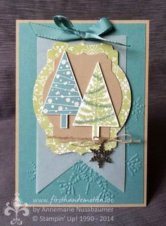 Stampin' Up! by First Hand Emotion: Chrsitbaumfestival