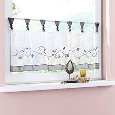 Window Tab Top Kitchen Tier Curtains