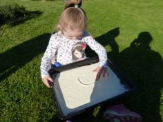 Hry pre najmenších - kreslíme do múky