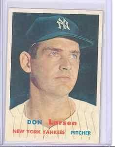 1957 Topps 175 Don Larsen New York Yankees EX | eBay