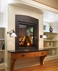 Really different idea for a fireplace