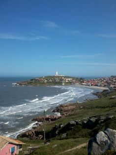 Vista para o farol de Santa Marta - Santa Catarina