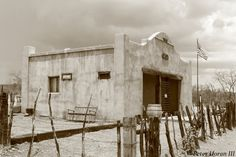 Gleeson Jail in Arizona near Tombstone.